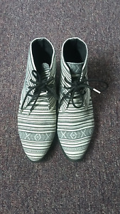 Forever 21 Ethnic Pattern Ankle Boots