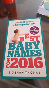 Baby name book Hewett Barossa Area Preview
