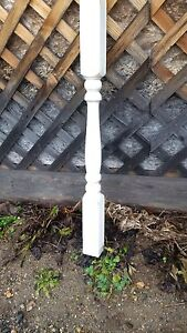 Painted 2 1/2 inch spindles