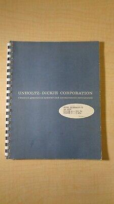 Unholtz-dickie Vibration Generation D11mgslov-tf Manual 5f B1