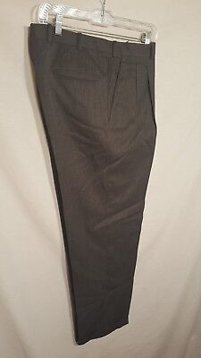 JB Britches Nordstrom Pleated Pants Gray 34R