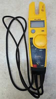 Great Cond. Fluke T5-600 Voltage Continuity Current Electrical Tester Multimeter