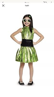 Buttercup Powerpuff Girls Cartoon Fancy Dress Up Deluxe Child Costume Small 4-6 (Powerpuff Fancy Dress)