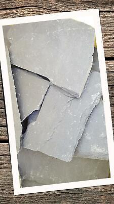 35 Stück Schiefer Platten 12-25cm Gehwegplatten Bodenplatte Garten Beet Felsen