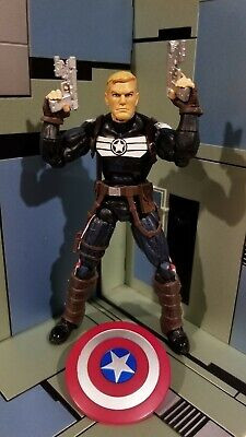 STEVE ROGERS - CAPTAIN AMERICA - Marvel Legends - TERRAX WAVE - Loose & COMPLETE