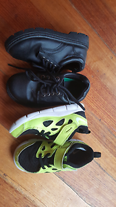 Nike free & chalkies black shoes..both size 10..both for $25 Devonport Devonport Area Preview
