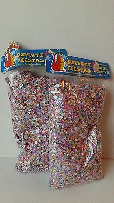 2X  Confetti Paper Multicolor Mexican 14 oz Party Supplies, Easter, All Ocasions