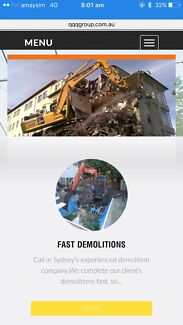 3Q Demolition-Excavation & asbestos removal-Remediation services