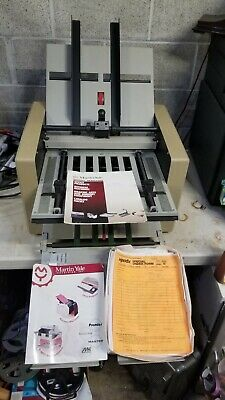 Martin Yale 959 Auto Paper Folder Folds Paper Up To 11x17