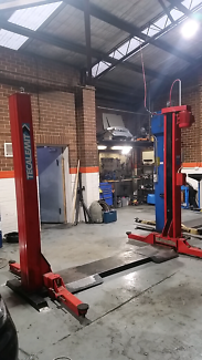 TECALEMIT Hoist Automotove  Buy and Removed from shop