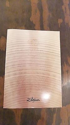 NEW 1987 Zildjian Cymbals Catalog