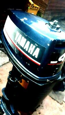 outboard engine Yamaha 4HP 1 owner 12 to 14 hours use been in garage storage