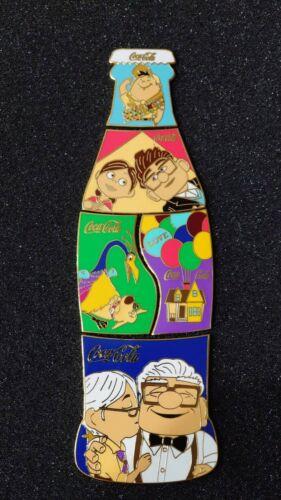 "Fantasy pins COKE puzzle 5 pins ""UP"" movie Carls & Ellie Love blue"