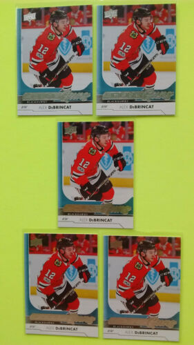 Lot Of 5 Ud 2017-18 Young Guns Yg Rookie Rc Upick