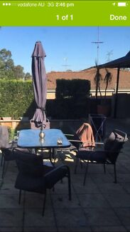 Outdoor setting $100 St Clair Penrith Area Preview