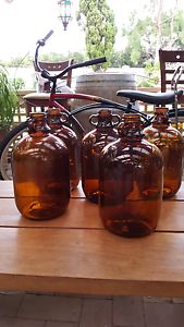 """COTTEES"" GLASS DEMIJOHN Joondalup Joondalup Area Preview"