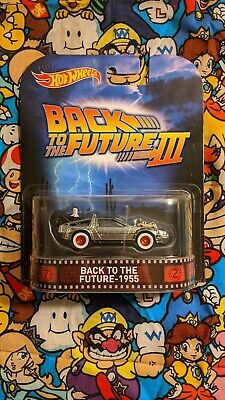 Hot Wheels Back To The Future Part III 1955 Retro Entertainment #CFR30 New NRFP