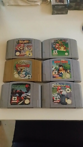 Nintendo 64 games + cartridge tower Salisbury Park Salisbury Area Preview