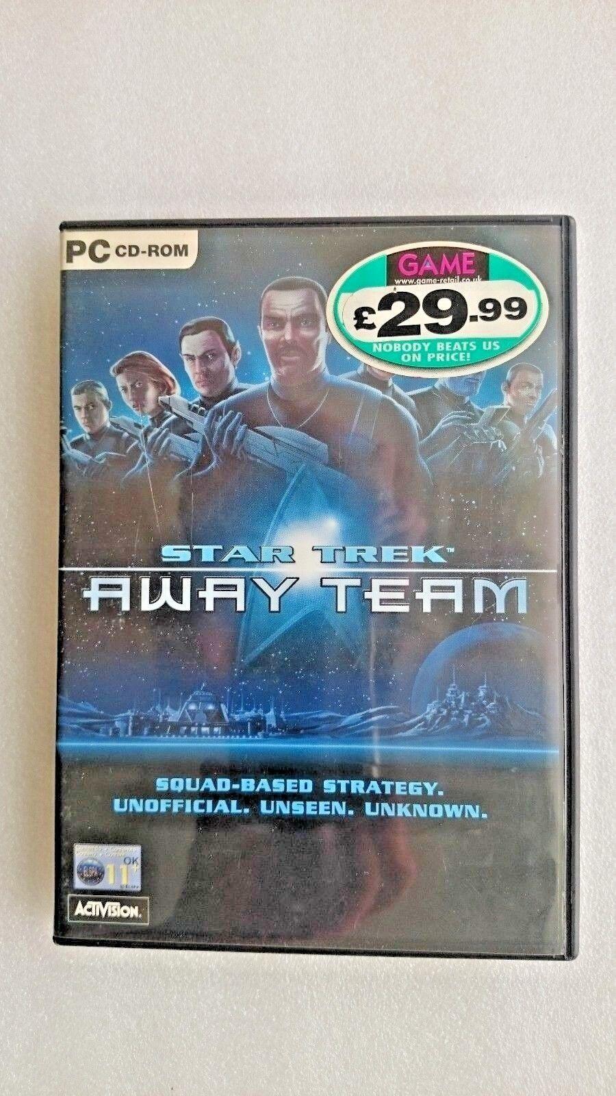 Star Trek Away Team - (PC: Windows, 2001)