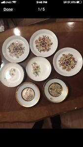 15 England dishes, never been used.