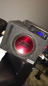 Sub,amp and deck 400 obo