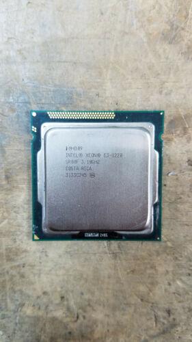 Intel Xeon E3-1220 SR00F 3.10GHZ LGA 1155 Quad-Core Processor