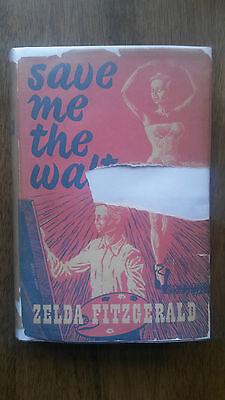 Zelda Fitzgerald   Save Me The Waltz  1St 1St Uk 1953 Hb W Dw  F Scott Gatsby