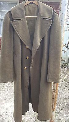 WW2 US melton type overcoat NICE condition SIZE 40!!