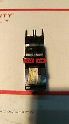 Federal Pacific Fpe Nc240 2 Pole 40 Amp Skinny Breaker