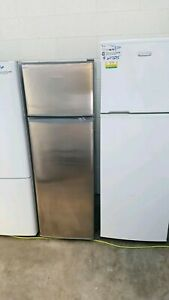 Fisher and paykel 248lt fridge freezer stainless steel as new