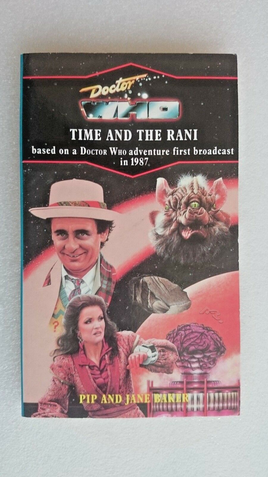 Doctor Who-Time and the Rani by Pip Baker, Jane Baker (Paperback, 1991)