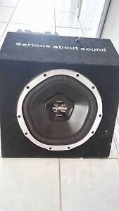 SONY XPLOD 1000W SUB & KENWOOD KAC-5203 350W AMP Redbank Plains Ipswich City Preview