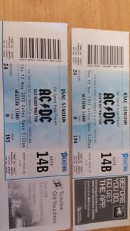 Acdc rock or bust world tour Burleigh Heads Gold Coast South Preview