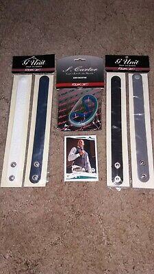 G Unit S. Shawn Carter Reebok Wrist/Baller Bands lot! NIP! 50 Cent Jay Z Rc!!