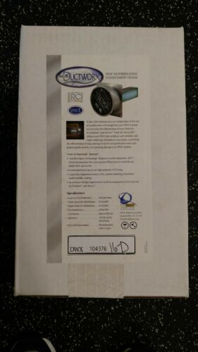 DuctWoRx 9 inch RCI Cell COMPLETE ASSEMBLY Vollara EcoQuest NEW UV light