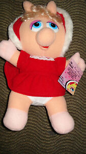 VINTAGE BABY MISS PIGGY 1988 JIM HENSON MCDONALDS STUFFED ANIMAL PLUSH MUPPETS