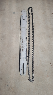 chainsaw bar and chain