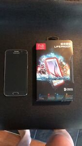 Samsung S6 with brand new lifeproof