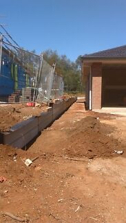Retaining walls,earthworks,stormwater ALL AREAS Newton Campbelltown Area Preview