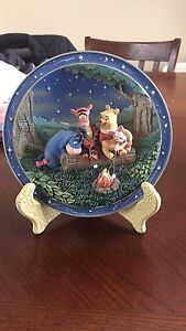 Winnie the Pooh Ceramic collector plates