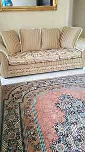Sofa lounge set and recliner Chester Hill Bankstown Area Preview