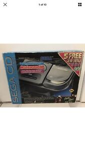 Boxed Sega CD Model 2