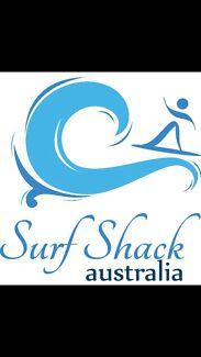 SURF SHACK BUSINESS FOR SALE