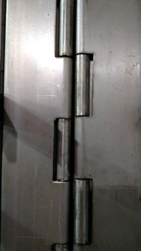 3 inch wide Cut to Length DIY Heavy Duty Stainless, Steel, or Aluminum Hinges