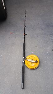Deep sea fishing rods and reels fishing gumtree for Deep sea fishing poles