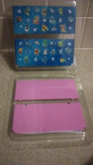 """""""New"""" Nintendo 3ds cover plates excellent unscratched cond"""