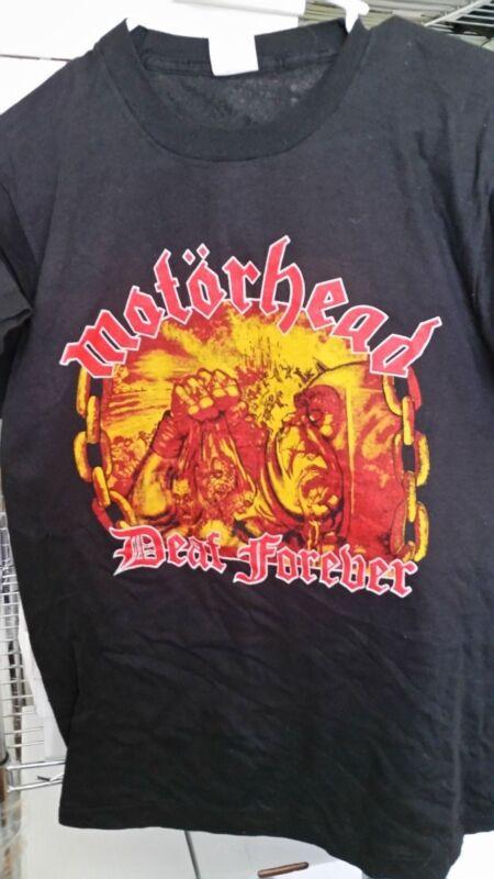 MOTORHEAD 1987 Orgasmatron Deaf Forever vintage licensed US concert tour shirt M