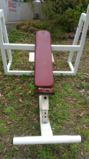 Commercial incline bench press