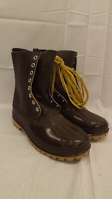 TRUE Vtg Kaufman INUIT Sorel Pac Boot NOS sz 11  Lugged Sole  w/Wool Liners