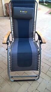 Oz trail loungers deluxe x2 plus one Oz trail recliner lounger Mindarie Wanneroo Area Preview